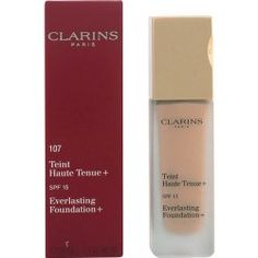 Clarins Everlasting Foundation dlhotrvajúci podkladový make-up SPF15 107 Beige 30 ml Foundation, Make Up, Lipstick, Beige, Beauty, Lipsticks, Makeup, Foundation Series, Beauty Makeup
