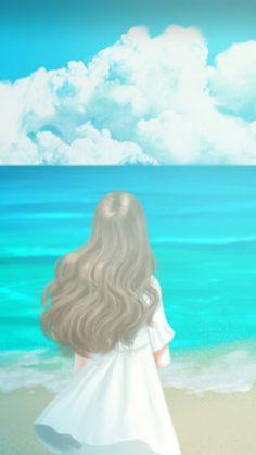 Enakei Cute Girl Wallpaper, Cute Wallpaper Backgrounds, Wallpapers, Sad Anime Girl, Anime Art Girl, Acrylic Painting For Kids, Lovely Girl Image, Silhouette Photography, Cute Girl Drawing