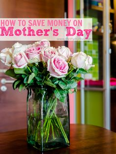 Tips on How to Save Money on Mother's Day Flowers! Flowers and Mother's Day go hand in hand. Who doesn't love receiving a bouquet of fresh blooms from someone they love? This Mother's Day, don't break the bank trying to send fresh blooms to your mom. Instead, take a look below at these 7 ways to save on Mother's Day flowers. You can still give flowers that are beautiful and fresh without paying the high florist shop prices. Take a look!