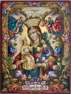 Mother Mary and Christ Religious Pictures, Religious Icons, Religious Art, Blessed Mother Mary, Blessed Virgin Mary, Catholic Art, Catholic Saints, Madonna, Christian Artwork