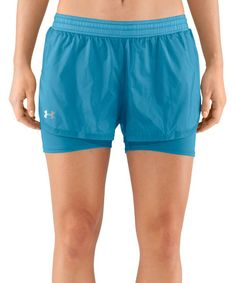 Love this Deceit Blue See Me Go Translucent Two-in-One Shorts on #zulily! #zulilyfinds