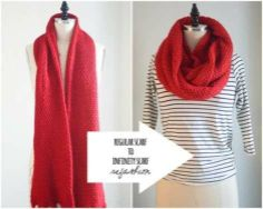 How to Make an Infinity Scarf in 3 Easy Steps | Fashion - Yahoo Shine