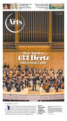 Music Tuned to 432 Hertz Said to Heal, Uplift Epoch Times #ShenYun #newspaper #editorialdesign