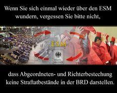 ESM Forum Gesellschaft Gesellschaftsforum UN Resolution Bestechung Abgeordnete Richter