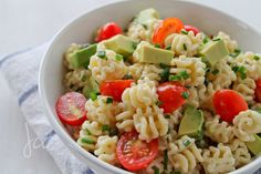 Chipotle pasta salad...DELICIOUS! I made this for a work potluck and everyone loved it. I substituted a lot of the mayo for plain greek yogurt.