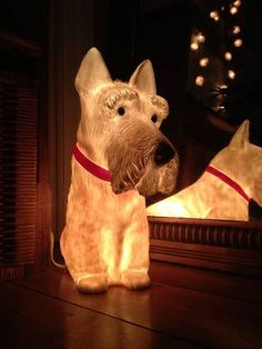 Scottie Dog Lamp Please can I have this for Christmas, Santa!