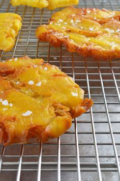 Fried Green Plantains (Patacones or Tostones)