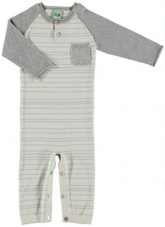 FUB - Heldrakt  Ecru/Sea Green Bodysuit, Sweatpants, Sea, Green, Baby, Dresses, Fashion, Onesie, Vestidos