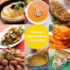 Las recetas vegetarianas no significan renunciar a una dieta equilibrada, mira... http://www.guiainfantil.com/recetas/cocinar-con-ninos/recetas-vegetarianas-y-veganas-para-ninos/
