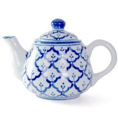 Pretty teapot: Ottoman Blue Teapot   Shop home  Kaboodle