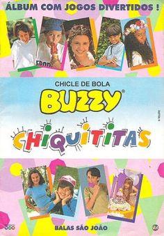 Álbum Chiquititas Chiclete Buzzy #nostalgia #anos90