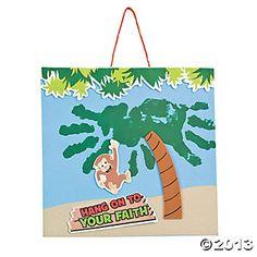 """Jungle Journey"" Handprint Craft Kit  MONKEY JUNGLE"