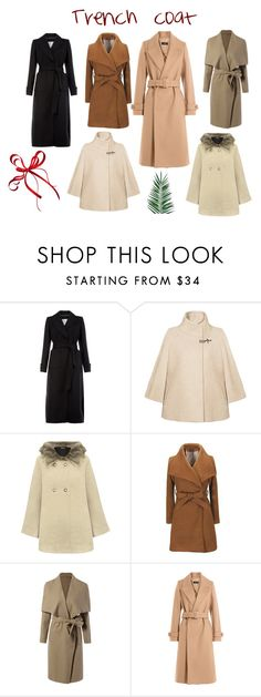"""""""Trench coat"""" by ririhara on Polyvore featuring Monsoon, FAY, WearAll, Joseph and Nika"""