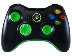 modded controllers xbox 360 mod controllers xbox 360 green out
