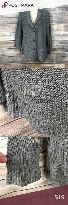 "XL Lou Lou Knit sweater cardigan ▪️21"" armpit to armpit ▪️23.5"" Length ▪️stretchy 🌼 lou lou Sweaters Cardigans"