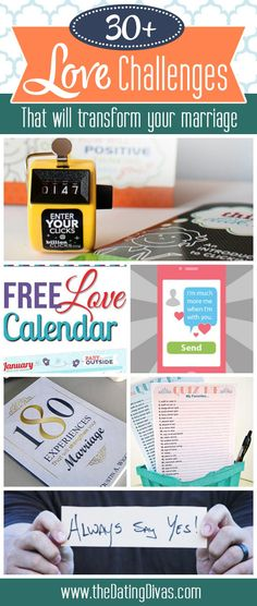We have gathered together the best love challenges and put them into one convenient spot! Take on a challenge and transform your marriage one step at a time. Strong Marriage, Marriage And Family, Happy Marriage, Marriage Advice, Relationship Advice, Relationships, Marriage Challenge, Diy Spring, I Love My Hubby