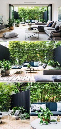 Kleine tuin inspiratie Eva Small garden inspiration Eva Once you are planning of what types of patio handles you can. Outdoor Spaces, Outdoor Living, Outdoor Decor, Small Gardens, Outdoor Gardens, Indoor Gardening, Gardening Tips, Small Garden Inspiration, Garden Ideas