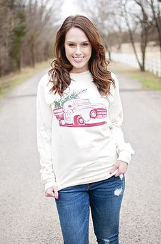 NEW Vintage Christmas - Christian Long Sleeve Tee by Ruby's Rubbish $30