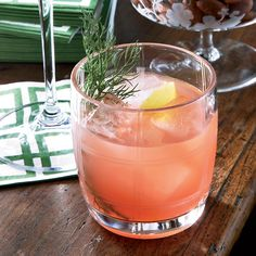 Campari-Fennel Aperitif Pleasantly bitter, herb-infused Campari is a bracing aperitif, especially when it's blended with a little sparkling wine as it is here. Neal Bodenheimer loves how the vivid-red Italian spirit tastes with fennel.