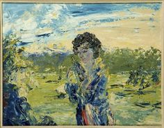 urgetocreate: Jack Butler Yeats, The Westering Sun, 1950 (White Winter Hymnal) Irish Painters, Jack B, Drawing Sketches, Drawings, Irish Art, Contemporary Paintings, Impressionist, All Art, Art Forms