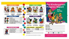OBlock Books  - Pre-Kindergarten Progress Reports for 3 year olds, $3.95 (http://store.oblockbooks.com/pre-kindergarten-progress-reports-for-3-year-olds/)