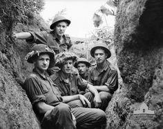 Men from the Royal Australian Regiment June 1953