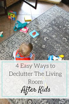 Need some decluttering ideas for your home but feeling overwhelmed? Here are 4…