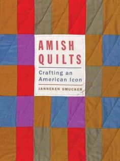 Quilts have become a cherished symbol of Amish craftsmanship and the beauty of the simple life. Country stores in Lancaster County, Pennsylvania, and other tourist regions display row after row of han