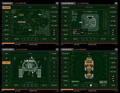 The Martian - UI Screen Graphics on Behance
