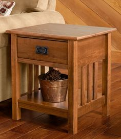 Mission Style Chairside Table | Home Decor | Pinterest | Products, Tables  And Mission Style End Tables