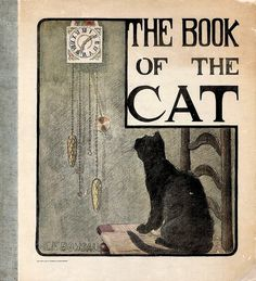 """The Book of the Cat"" - illustrated by Elisabeth F. Bonsall (1903) by docarelle, via Flickr"