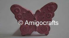 Pink Butterfly Kid's Drawer Knob
