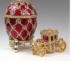 I have always been fascinated by Faberge Eggs.