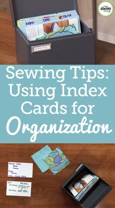 Leah Rybak presents a fun and easy tip to help you stay organized. See how helpful this tip can be for remembering unique ideas for the future as well as remembering what gifts you have given to friends or family in the past. Find out how organized you can be with index cards.