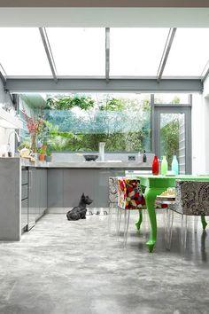 cozinha+jardim+parede+vidro+cimento+queimado.jpg 426×640 pixels