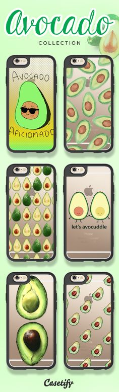 Let's avocuddle! Take a look at these designs featuring avocado on our site now! https://www.casetify.com/search?keyword=avocado | @casetify
