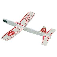 Starfire Balsa Wood Glider Plane, 2015 Amazon Top Rated Airplane Construction Kits #Toy