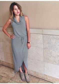Cowlknit Midi Dress by Dolan Left Coast | Pinned by topista.com