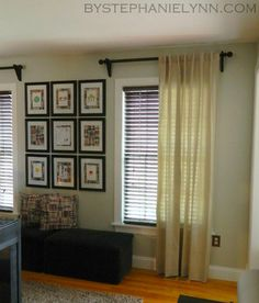 1000 Images About Diy Curtain Rods On Pinterest Diy