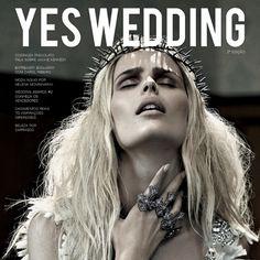 Yes Wedding magazine #2 Cover: brazilian model Yasmin Brunet Photo: Maurício Nahas Dress: Monique Lhuillier for WhiteHall Concept: Agência Blush