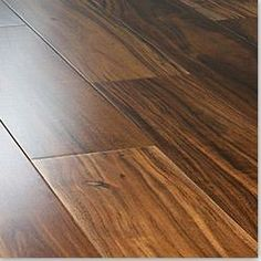 Ideas Flooring Ideas Diy Engineered Hardwood For 2019 Hardwood Floor Colors, Light Hardwood Floors, Engineered Hardwood Flooring, Best Flooring, Diy Flooring, Flooring Ideas, Kitchen Flooring, Acacia, Diy Storage Building
