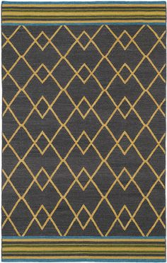 Nomad Nom03 Charcoal Rug from the Scandinavian Rugs I collection at Modern Area Rugs