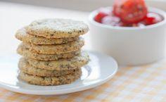 Biscuits au beurre et au pesto de Sylvie