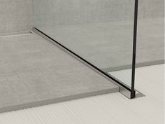 Stainless steel edge profile for floors GLASS PROFILE GPS1 Glass profile…
