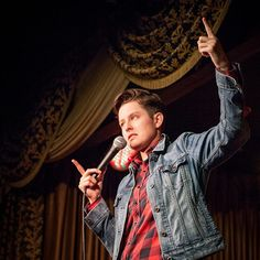 Rhea Butcher - Los Angeles based standup comedian, bringing a James Dean type cool to highly personal jokes. Cameron Esposito, Comedy Comics, Masculine Style, Lgbt Love, Going Solo, Stand Up Comedy, Androgynous, Tomboy, Comedians