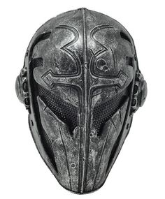 See Full Description Below... description Get this paintball or airsoft wire mesh black templar fabric plastic mask that covers full face, very durable, and the best quality mask we have! It can also be used as Halloween costume if desired. Features: Paintball Airsoft Wire Mesh Templar Fabric Plastic Mask (black) Free shipping Product covers full face - It's Very Durable and the best quality mask we have! This was developed as a limited run product so supplies are limited! HALLOWEEN COSTUME?…
