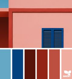 today's inspiration image for { color view } is by . thank you, Andrea, for another amazing image share! Pantone Red, Pantone Color, Red Colour Palette, Color Palettes, Design Seeds, Room Color Schemes, Colour Board, Interior Exterior, Color Swatches