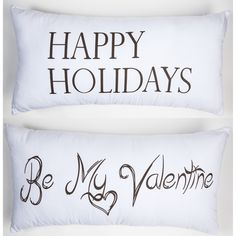 VALENTINE PILLOW, valentine décor, crisp white valentine pillow