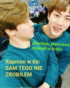 Widać po tytule co to będzie więc po co opis 😎💖 K Meme, Bts Memes, Funny Memes, K Pop, Rapmon, Reasons To Smile, About Bts, I Love Bts, Bts Pictures