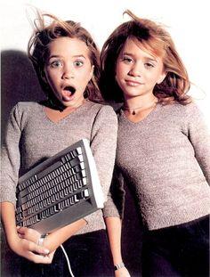 Olsen Sister, Olsen Twins, Kristina Pimenova, Mary Kate Ashley, Ashley Olsen, Twin Sisters, Young Models, Full House, Aesthetic Vintage